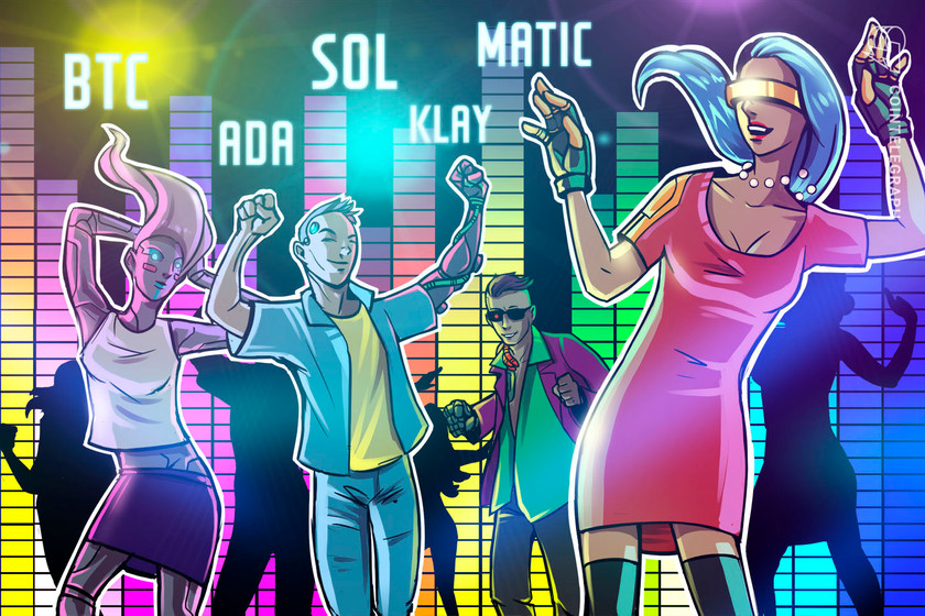 Top 5 cryptocurrencies to gaze this week: BTC, ADA, SOL, MATIC, KLAY