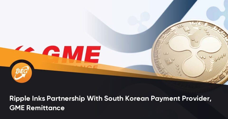 Ripple Inks Partnership With South Korean Rate Provider, GME Remittance