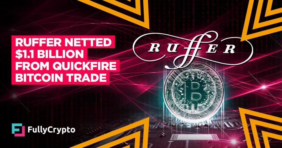 Ruffer Nets $1.1 Billion From Quickfire Bitcoin Alternate