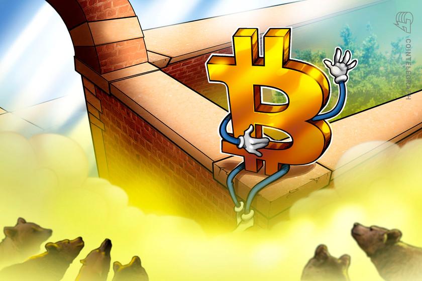 Bitcoin impress in danger of $30K retest following bearish triangle breakdown