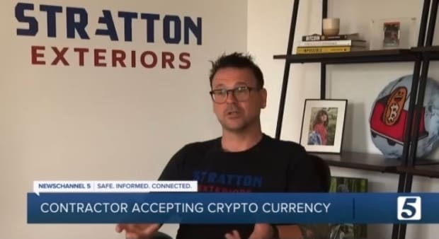 Nashville Contracting Firm Encourages Purchasers To Pay In Bitcoin Due To Inflation