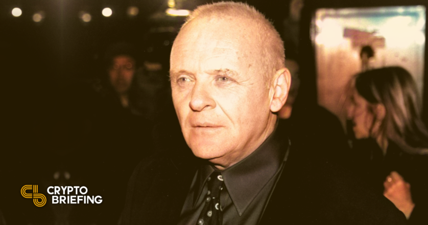 Anthony Hopkins Will Critical person in NFT-Primarily based entirely mostly Tech Thriller