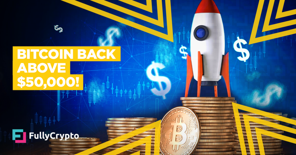 Bitcoin Lend a hand Above $50,000 As Restoration Continues