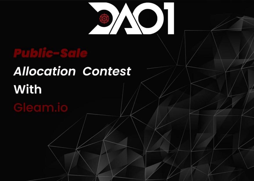 DAO1 Launches Public Sale Token Allocation Contest