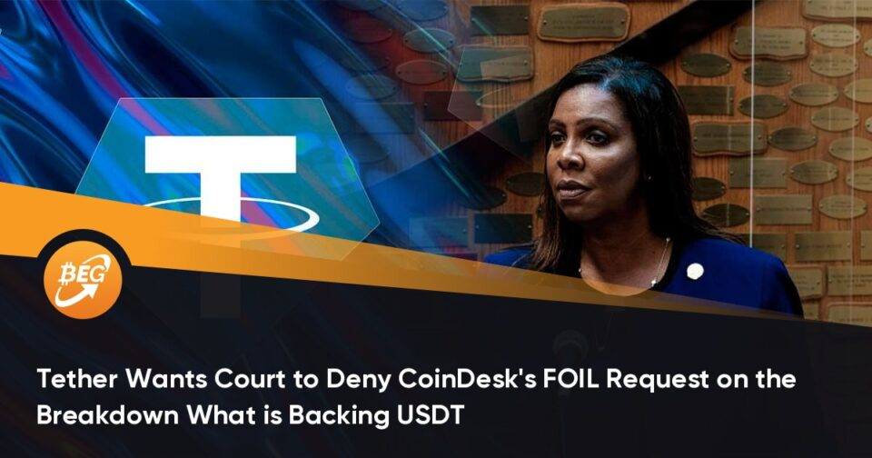 Tether Wants Court to Bellow CoinDesk's FOIL Quiz on the Breakdown What is Backing USDT