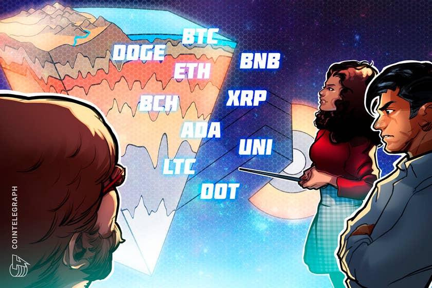 Ticket evaluation 7/30: BTC, ETH, BNB, ADA, XRP, DOGE, DOT, UNI, BCH, LTC