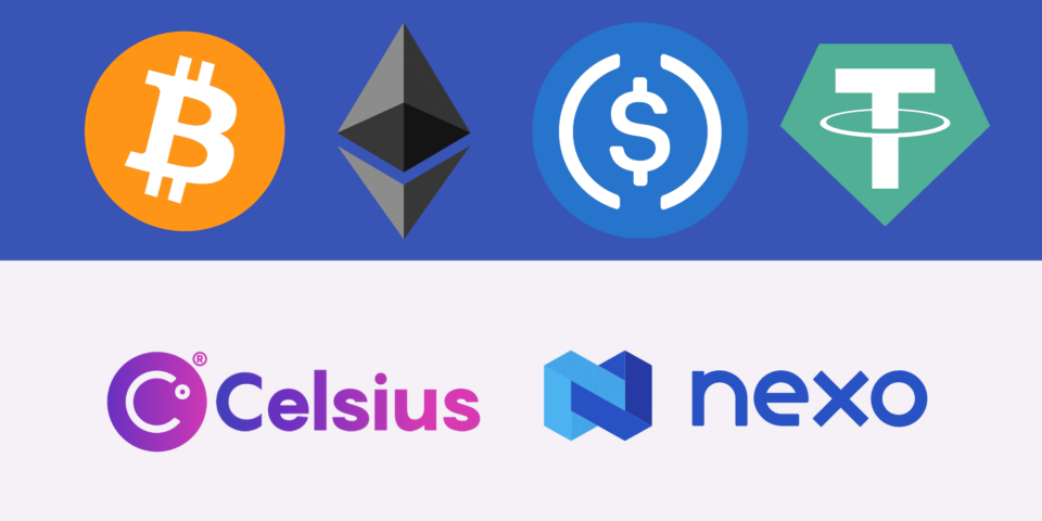 Celsius vs. Nexo: Comparing Two High Crypto Passion Accounts
