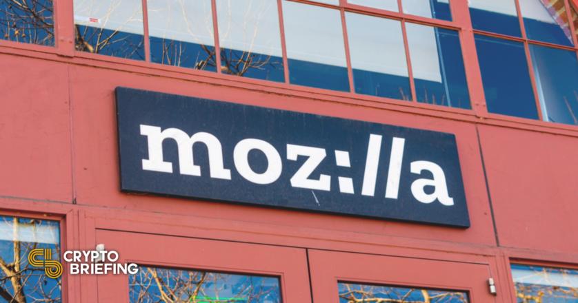 Mozilla W3C Book Condemns Crypto Mining