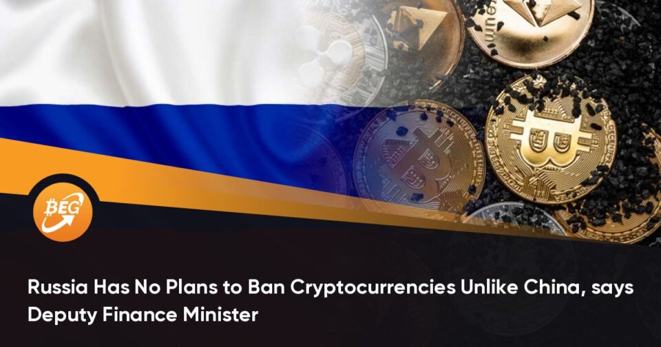 Russia Has No Plans to Ban Cryptocurrencies Unlike China, says Deputy Finance Minister